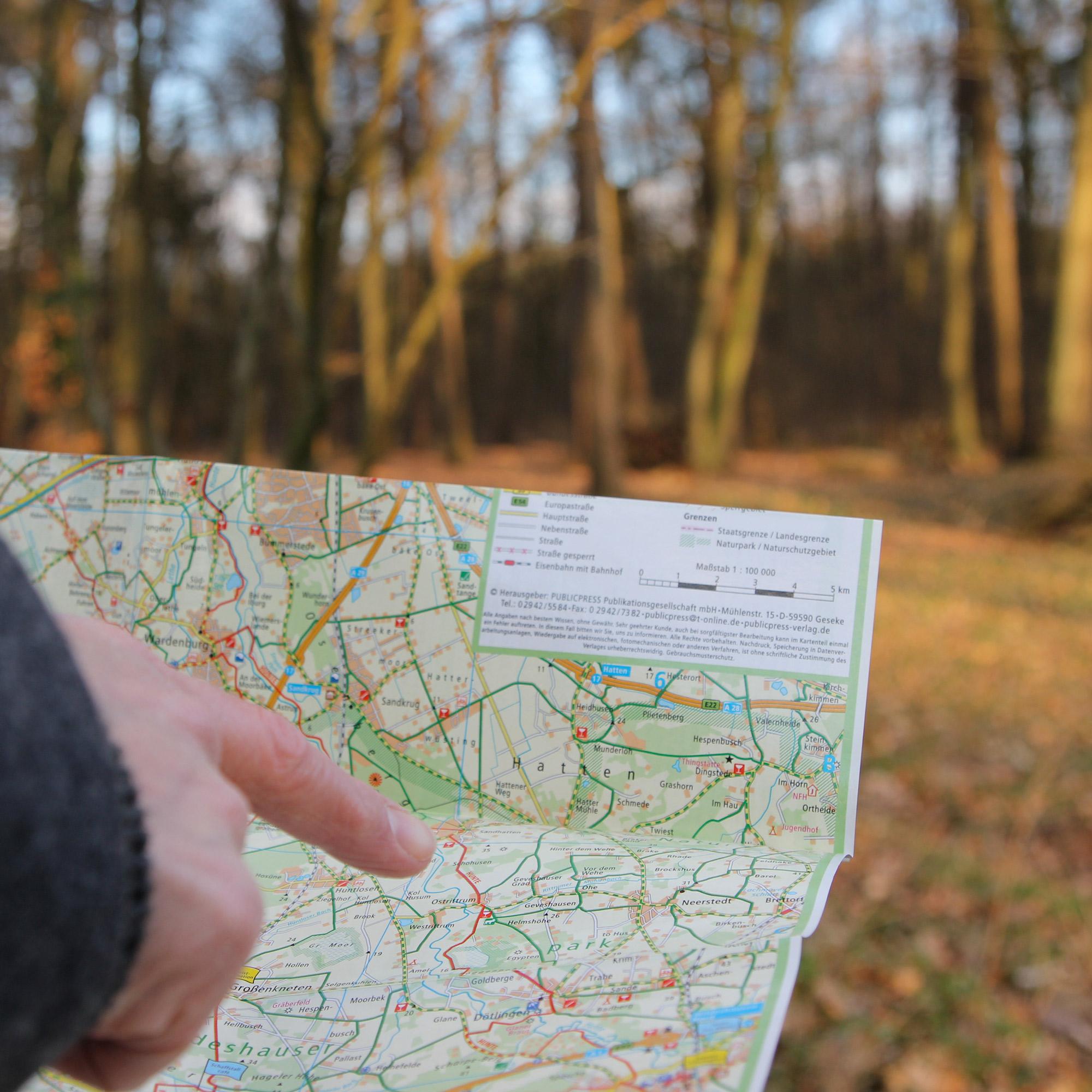 Rund um unseren Waldgasthof Schöning gibt es eine Menge an Wanderwegen. Auch Fans des Nordic-Walking kommen hier auf ihre Kosten!