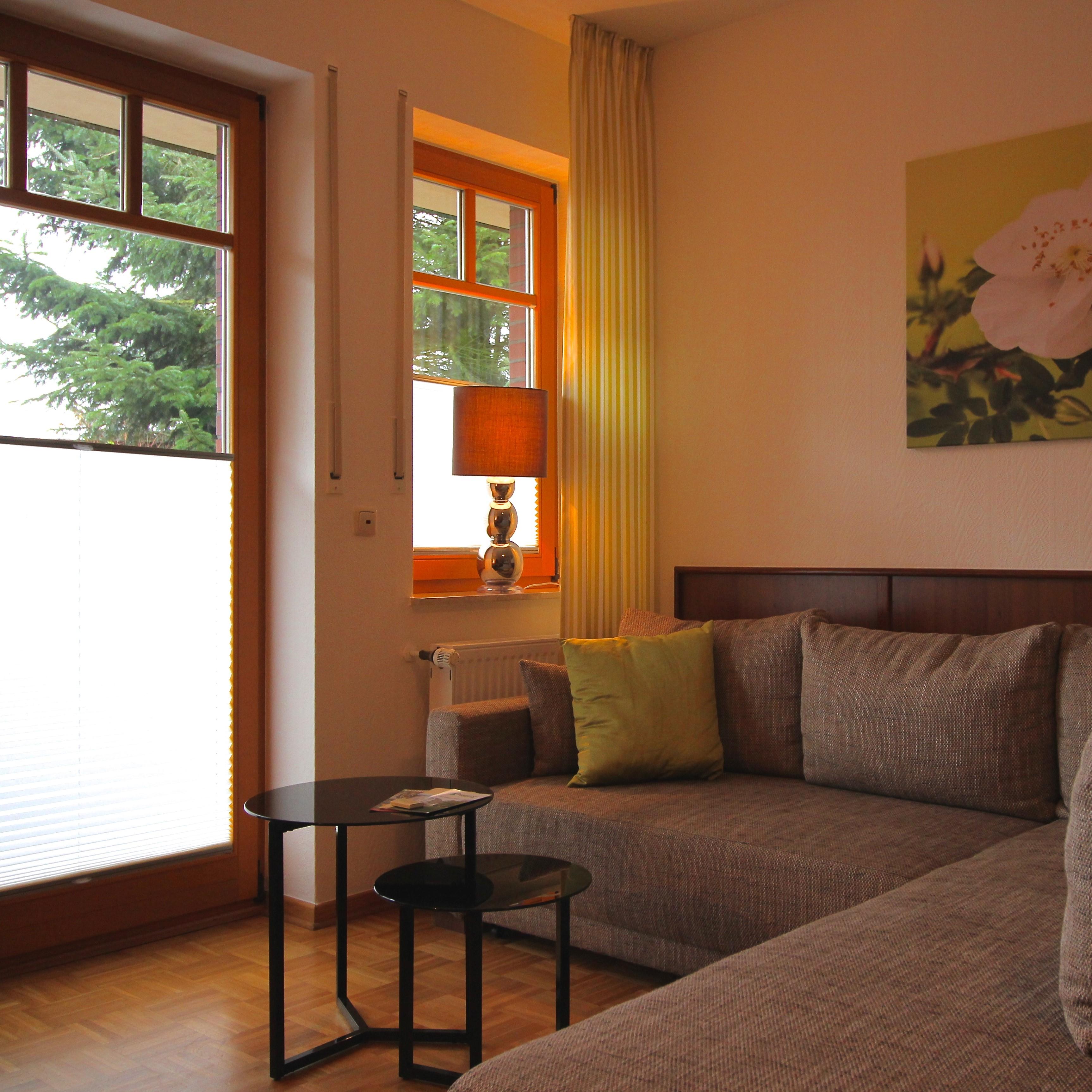 Dreibettzimmer mit Balkon